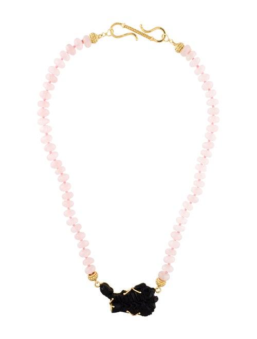 Tagliamonte Rose Quartz Scorpio Pendant Necklace R