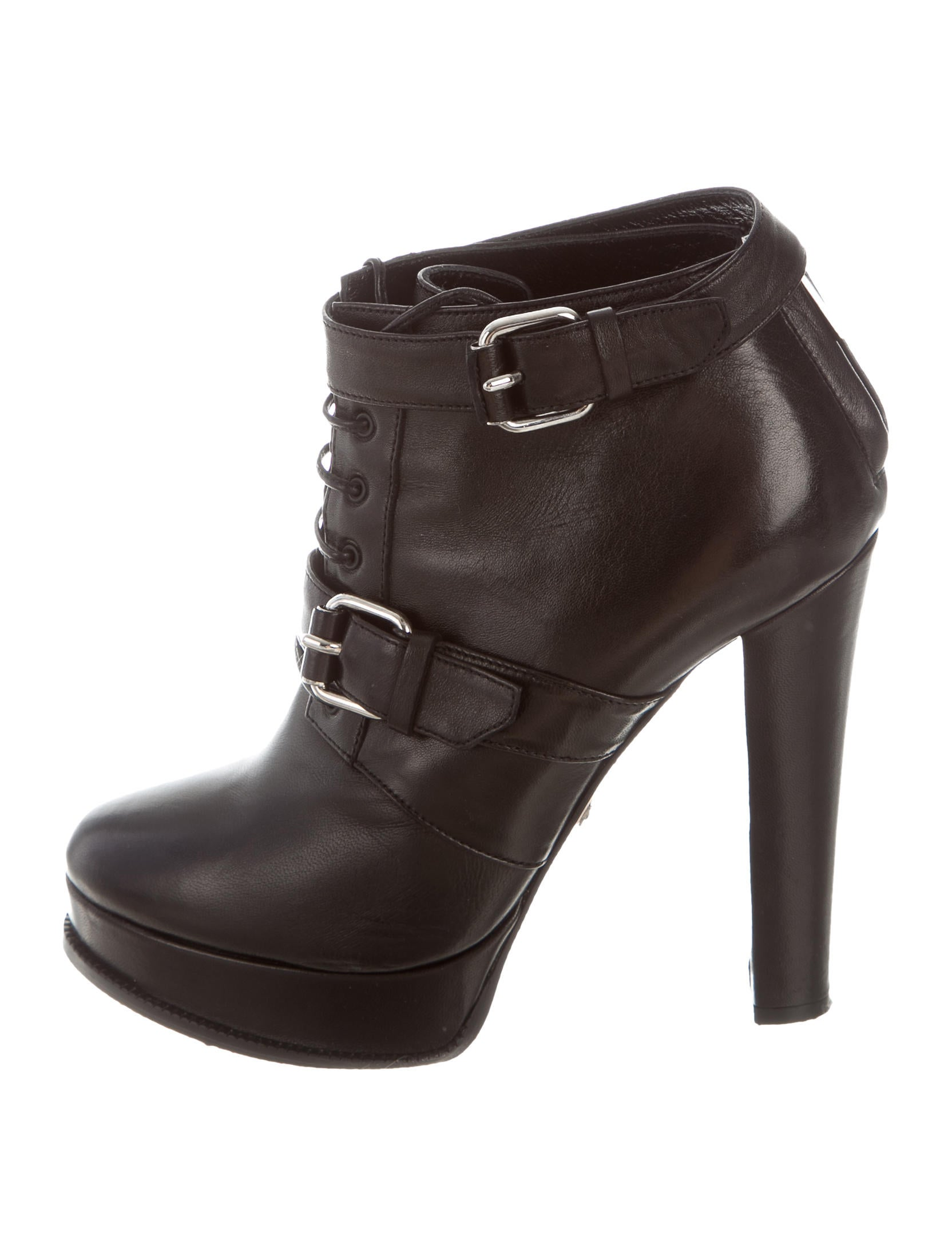 Tania Spinelli Lace-Up Platform Booties outlet store hot sale xDEuXI