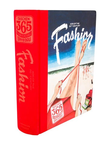Taschen 365 day by day fashion ads of the 20th century for Home decor 365
