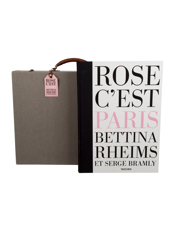 Taschen Limited Edition Rose C 39 Est Paris Book Set Decor And Accessories Tasch20064 The