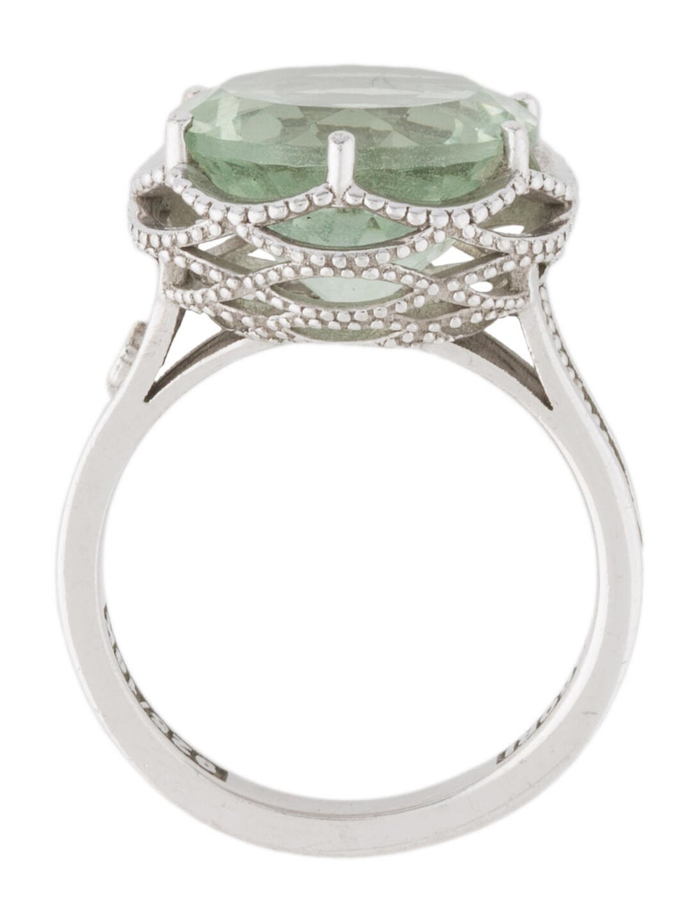 Tacori Prasiolite Ring Silver - image 5