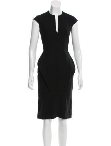Todd Lynn Wool Knee-Length Dress