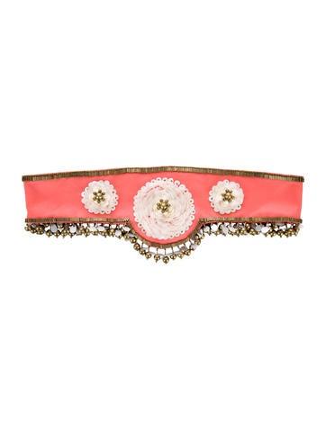 Temperley London Embellished Waist Belt