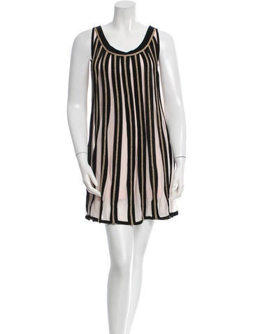 Temperley London Pleated Sleeveless Dress w/ Tags None