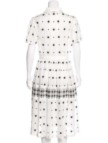 Short Sleeve Midi Shirtress