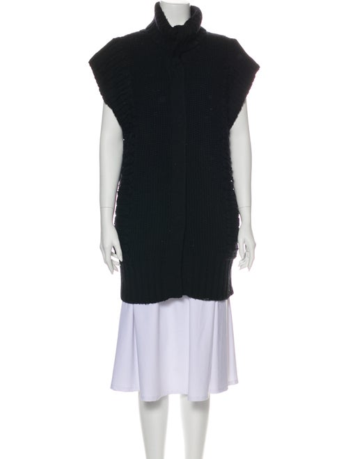 Temperley London Merino Wool Turtleneck Sweater Wo