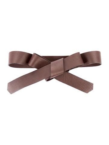 ter et bantine leather tie belt accessories ter20694