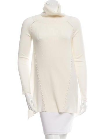 Tess Giberson Wool-Blend Turtleneck Sweater w/ Tags None