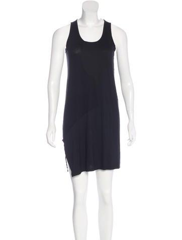 Tess Giberson Rib Knit Paneled Dress None