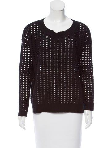 Tess Giberson Cutout Wool Sweater None