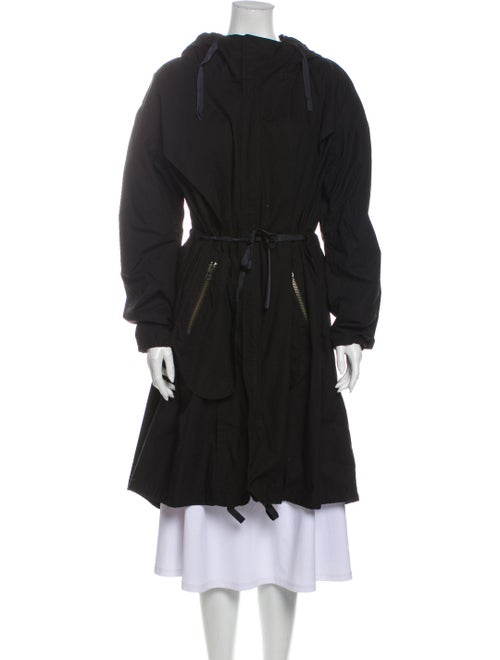 Tess Giberson Trench Coat Black