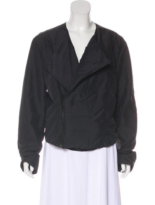 Thierry Mugler Asymmetrical Puffer Jacket Black