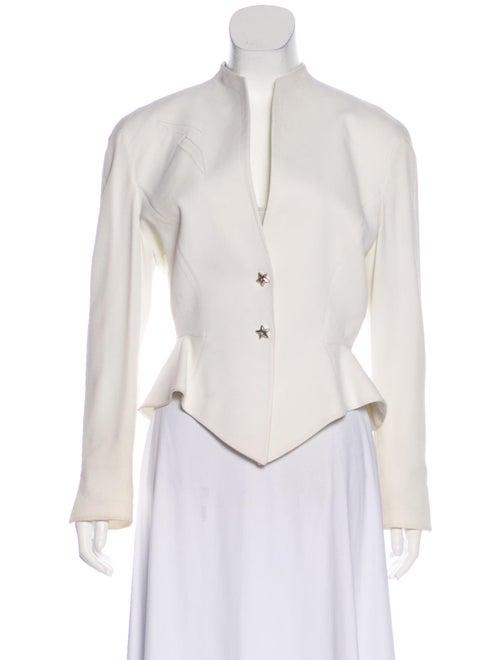 Thierry Mugler Embellished Structured Jacket