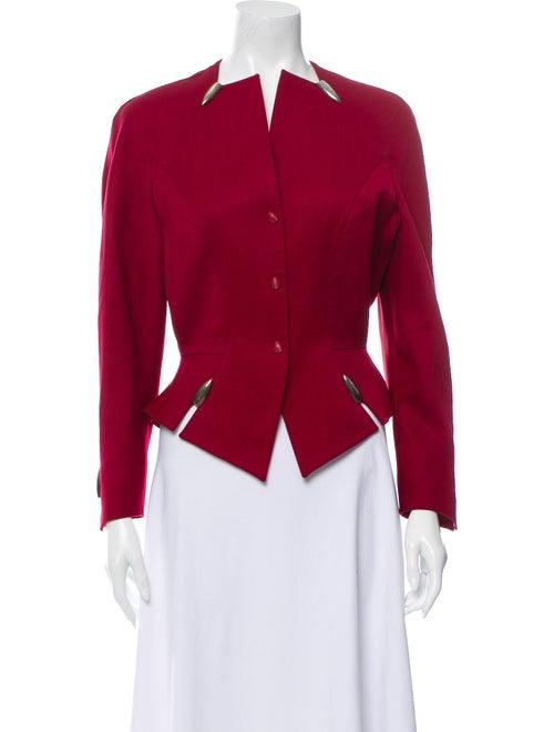 Thierry Mugler Wool Evening Jacket Wool