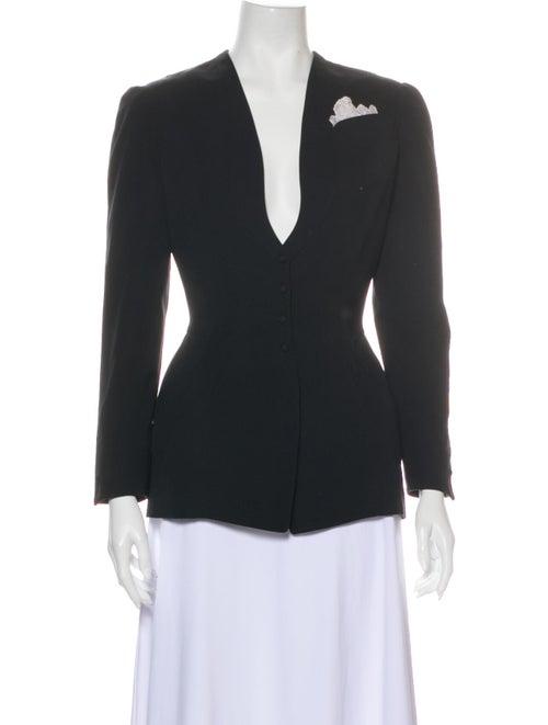 Thierry Mugler Evening Jacket Black