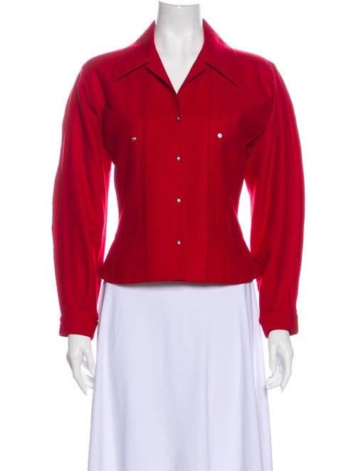 Thierry Mugler Vintage Wool Evening Jacket Wool