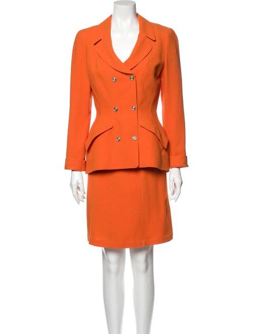 Thierry Mugler Vintage Skirt Suit Skirt Suit Orang