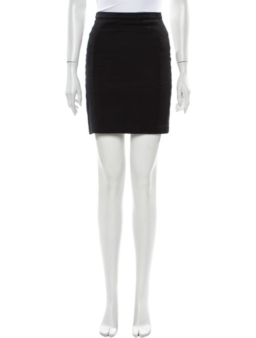 Thierry Mugler Vintage Mini Skirt Black