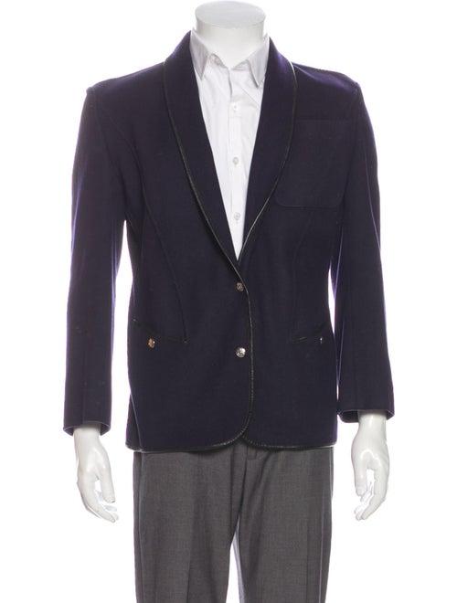 Thierry Mugler Vintage 1980's Blazer Blue
