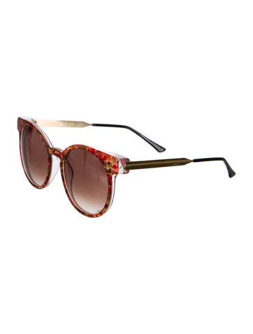 Abstract Print Sunglasses
