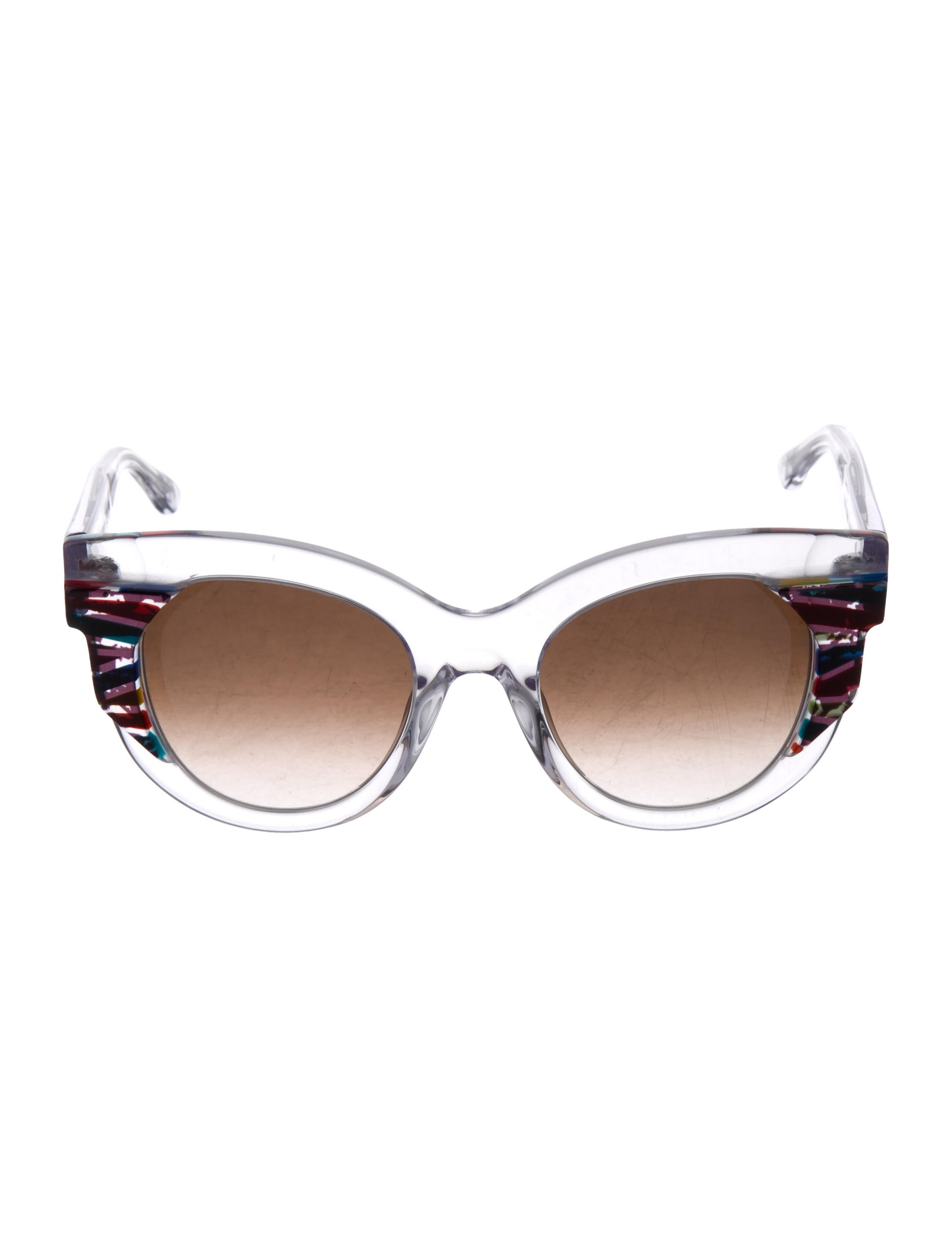 11e6f066807 Thierry Lasry Clear Round Sunglasses w  Tags - Accessories ...