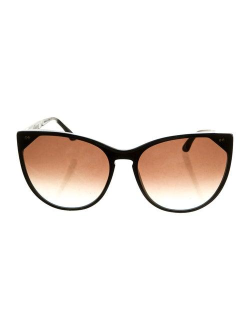 Thierry Lasry Cat-Eye Gradient Sunglasses Black