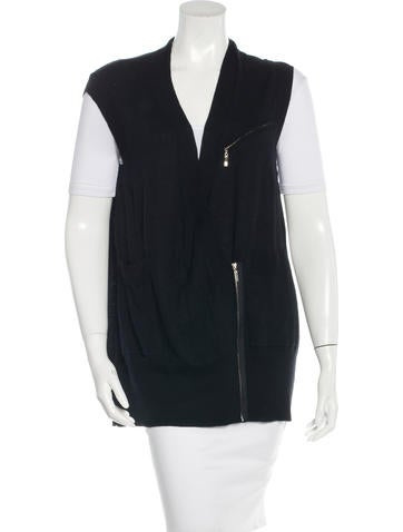 Thomas Wylde Oversize Knit Vest None