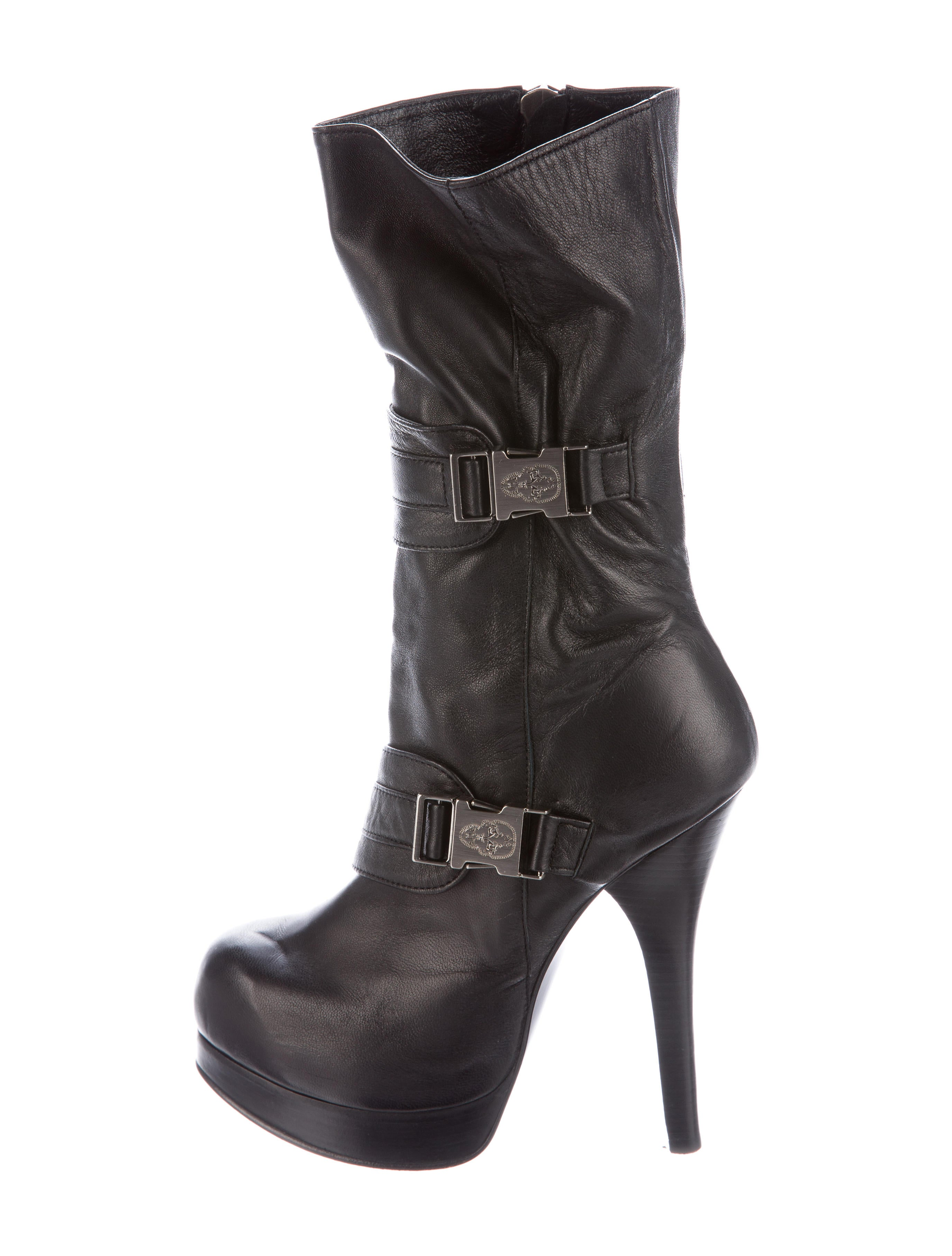 wylde leather platform boots shoes thm24426