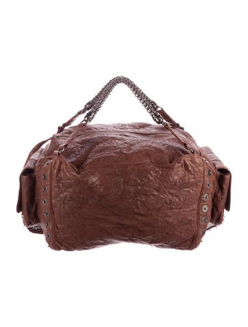 Thomas Wylde Grommet-Embellished Duffel Bag