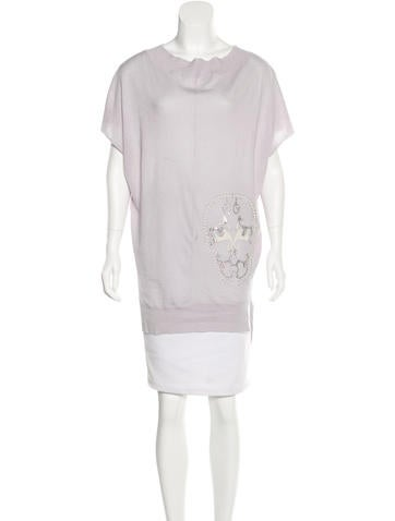 Thomas Wylde Cashmere Embellished Top w/ Tags None