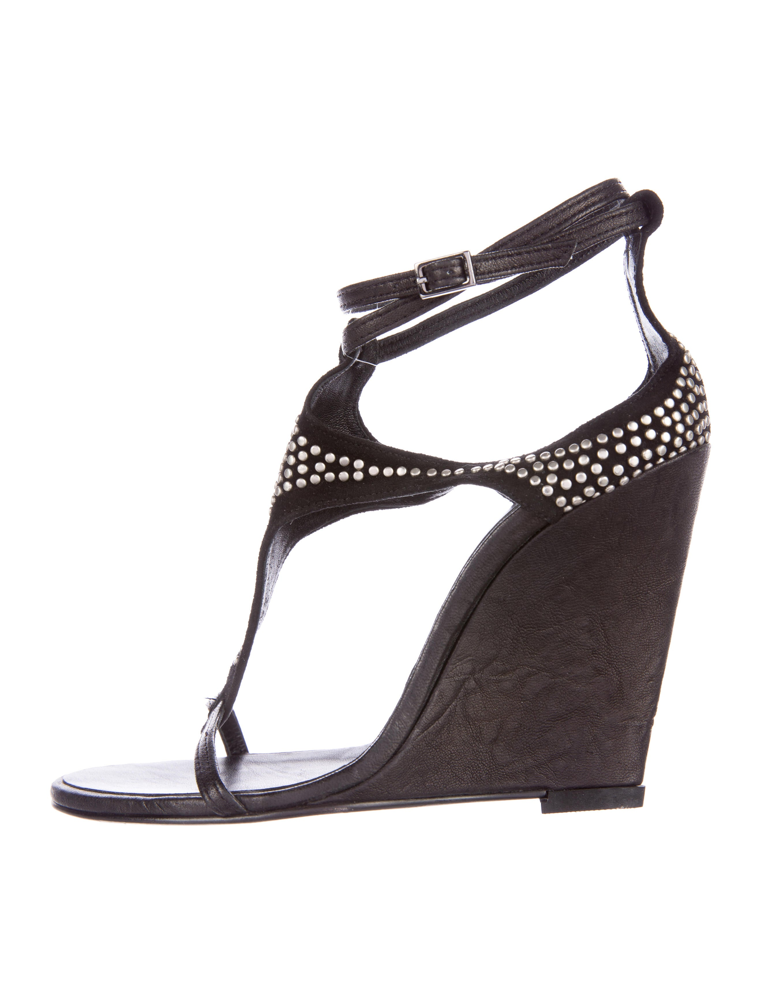 Thomas Wylde Studded Wedge Sandals cheap low shipping fee clearance in China free shipping footlocker finishline buy cheap 100% original buy cheap top quality wo49HiiJH
