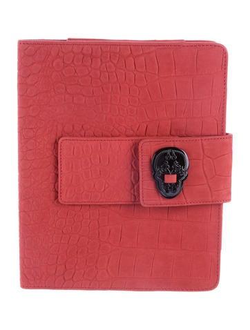 Thomas Wylde Embossed Leather iPad Case