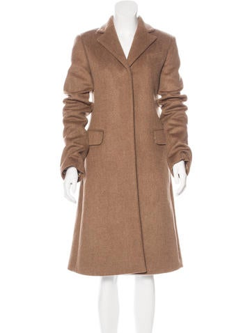 Thomas Wylde Notched Lapel Long Coat None