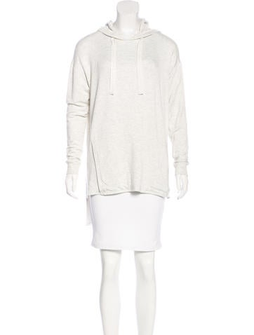 Thomas Wylde Hooded Knit Sweater None