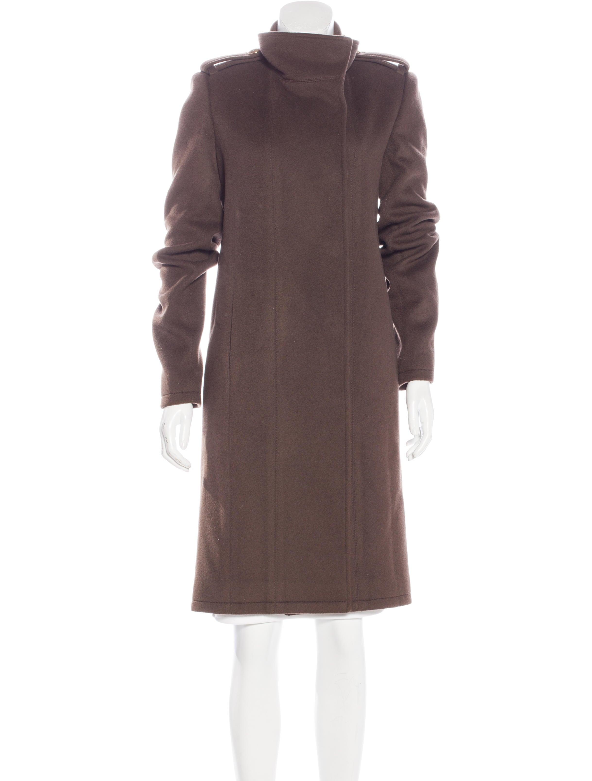 Thomas Wylde Wool Knee Length Coat Clothing Thm27350