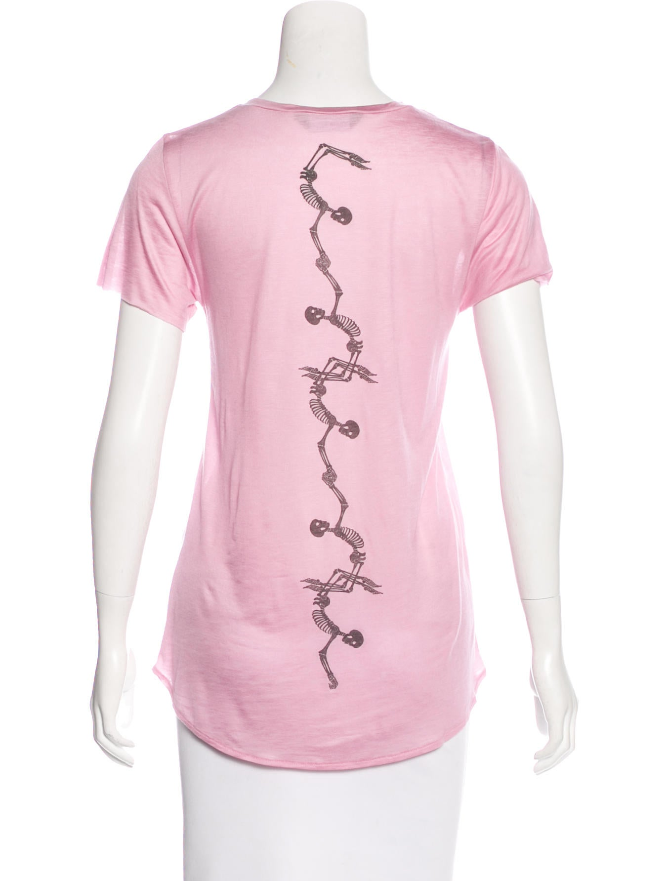 Thomas Wylde Printed Short Sleeve T Shirt Clothing