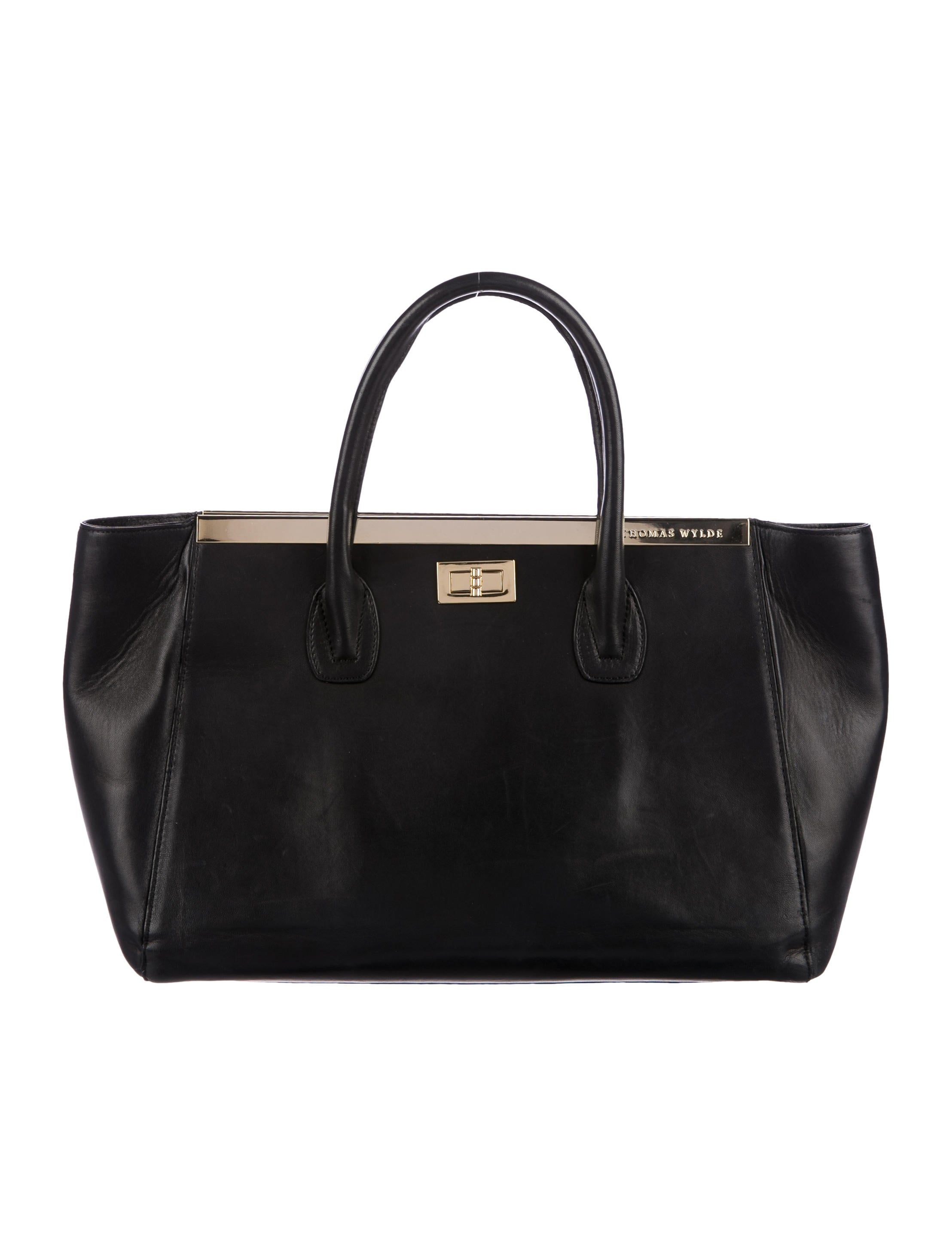 Thomas Wylde Smooth Leather Tote