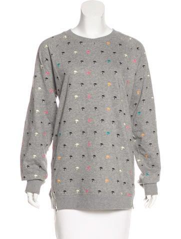 Printed Oversize Sweatshirt