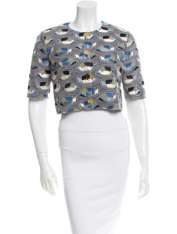 Thom Browne Fish Pattern Bolero w/ Tags