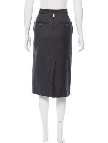 thom browne casual knee length skirt skirts tho22049