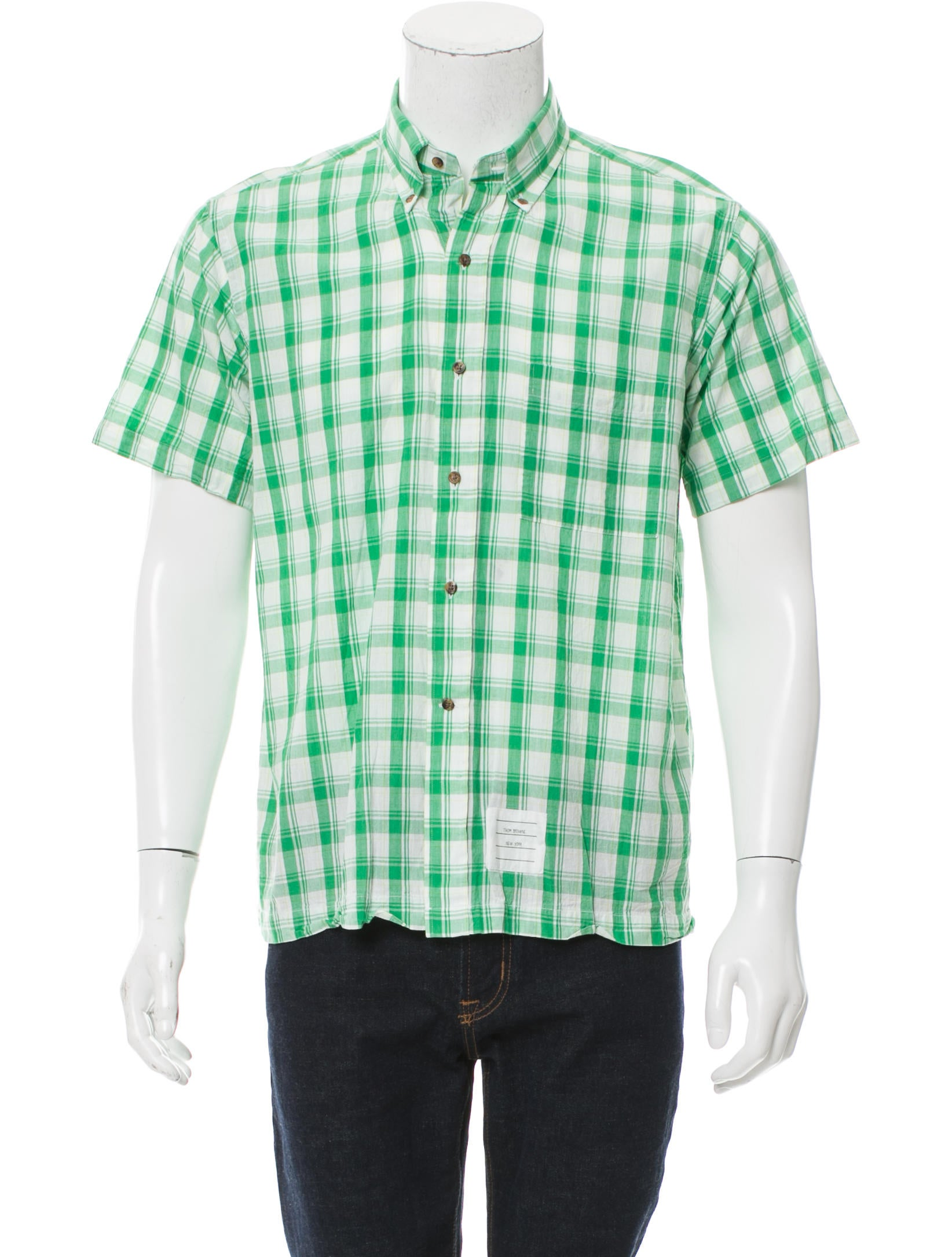 Dickies Big & Tall Men?s Short-Sleeve Plaid Shirt? Relaxed Fit. Sold by Best Buys Big & Tall. $ $ Buffalo David Bitton Mens Short Sleeves Plaid Button-Down Shirt. Sold by BHFO. $ $ - $ Buffalo David Bitton Mens Plaid Short Sleeves Button-Down Shirt.