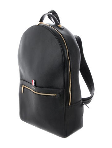 34be7754327 Thom Browne. Grained Leather Backpack