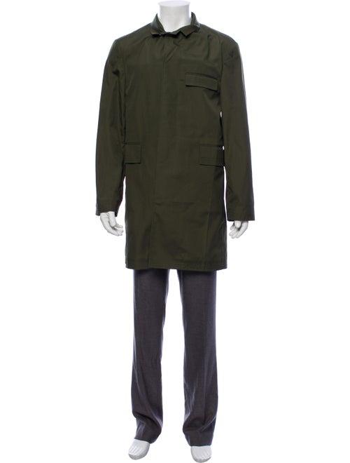 Thom Browne Lightweight Top Coat olive
