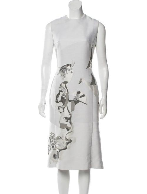 Thom Browne Silk Jacquard Dress