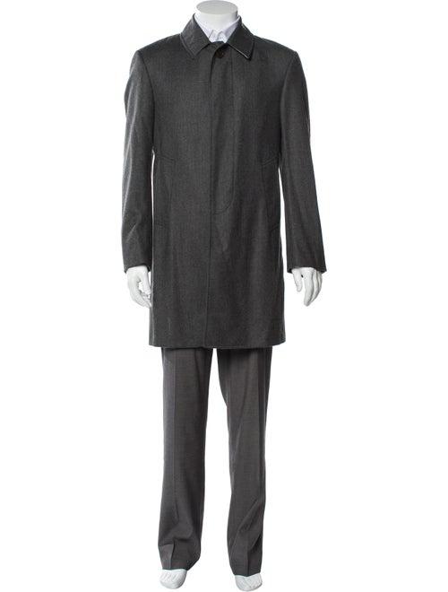 Thom Browne Wool Overcoat Wool