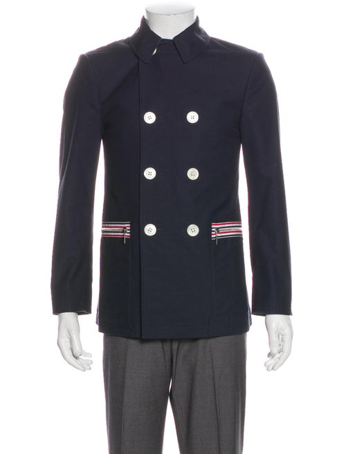 Thom Browne Jacket Blue