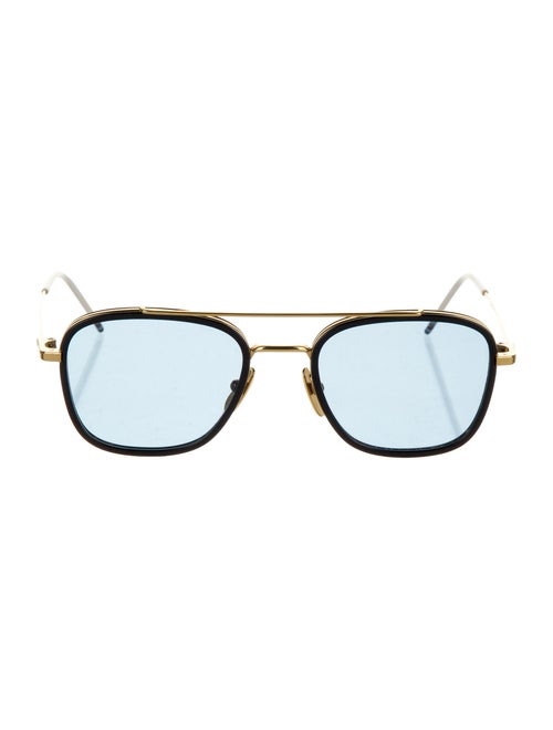 Thom Browne Square Tinted Sunglasses gold
