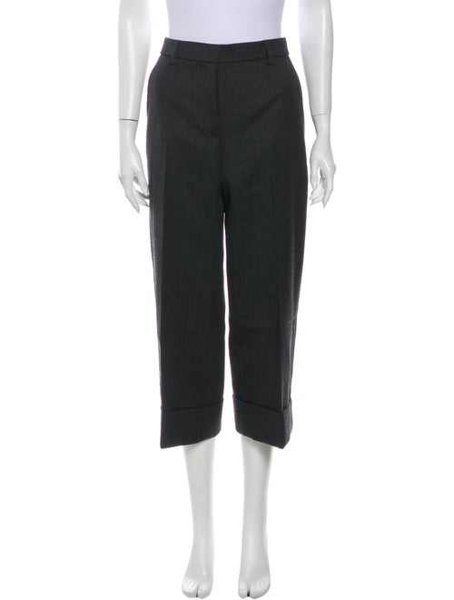 Thom Browne Wool Wide Leg Pants Wool