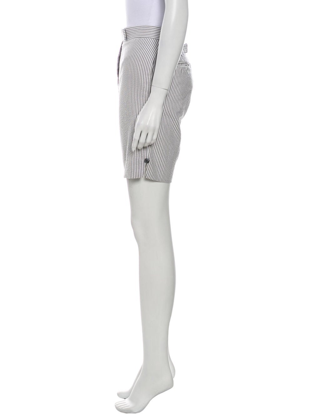 Thom Browne Striped Knee-Length Shorts White - image 2