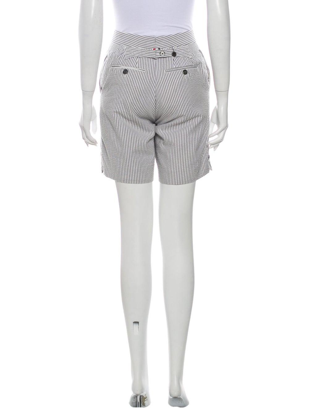 Thom Browne Striped Knee-Length Shorts White - image 3